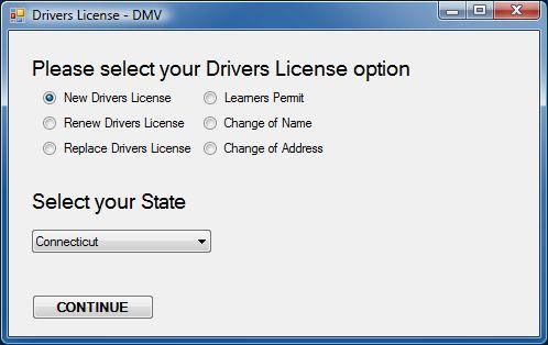 dmv 1.0 screenshot
